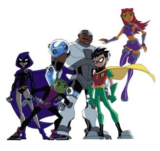 Teen Titans....GO! Freaking catchy theme song!