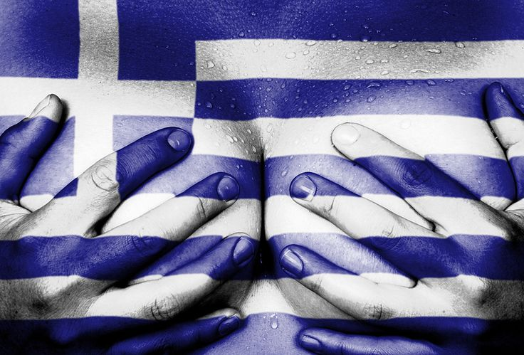 Female body hands covering breasts flag of Greece photo  http://www.kozzi.com/stock-photo-25045155-hands-covering-breasts.html?affiliate=661317&tracking=Pinterest | Kozzi Images | Royalty Free Stock Images for just $1