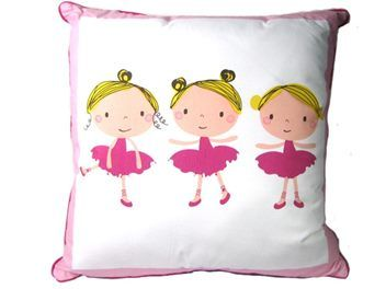 Cotton Ballerina Cushion