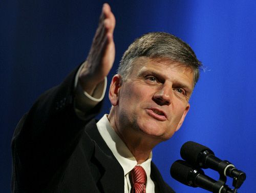 """Rev. Franklin Graham Slams Obama's Views On Islam, """"It's Impossible For False Religion To Be A True Religion Of Peace""""…"""