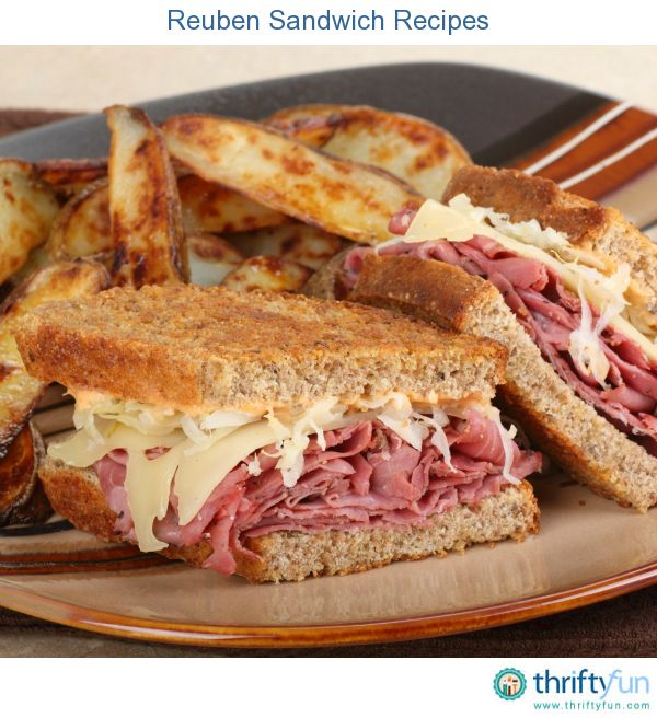 Reuben Sandwich Recipes | Cole slaw, Sandwich recipes and Dressing