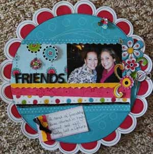 """""""Best Friends"""" Feature Article  By: Jean Marmo for Scrapbooking.com March 2013 issue"""