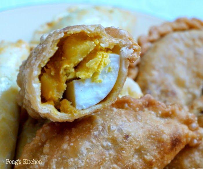 Potato Curry Puffs (Epok Epok Kentang)