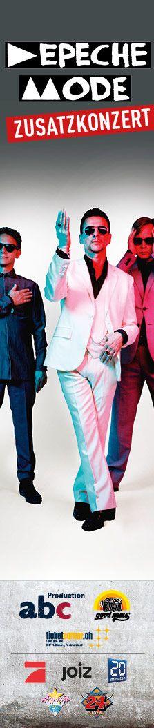 """Die Pioniere der elektronischen Musik kehren nach Zürich zurück. Depeche Mode setzt so die zweite Etappe der """"Delta Machine World Tour"""" auch im 2014 fort und spielen am 14. & Zusatzkonzert am 15. Februar 2014 im Hallenstadion in Zürich. Tickets: http://www.ticketcorner.ch/depeche-mode-tickets.html?affiliate=PTT&doc=artistPages/tickets&fun=artist&action=tickets&kuid=400903"""