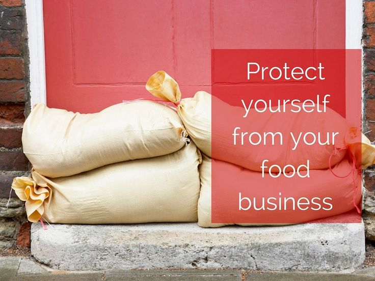 Protect yourself from your food business