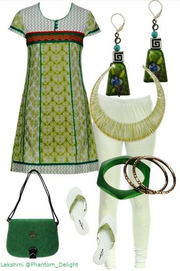 """My @Limeroad.com #Limeroad Scrapbook Look of the Day: """"Lime Love"""": know more about this look here: http://phantomdelight.blogspot.com/2013/07/my-limeroadcom-scrapbook-look-of-day_26.html"""
