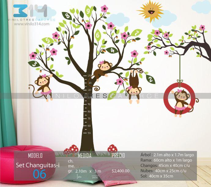 42 best images about vinilos decorativos arboles for Vinilos infantiles para ninas