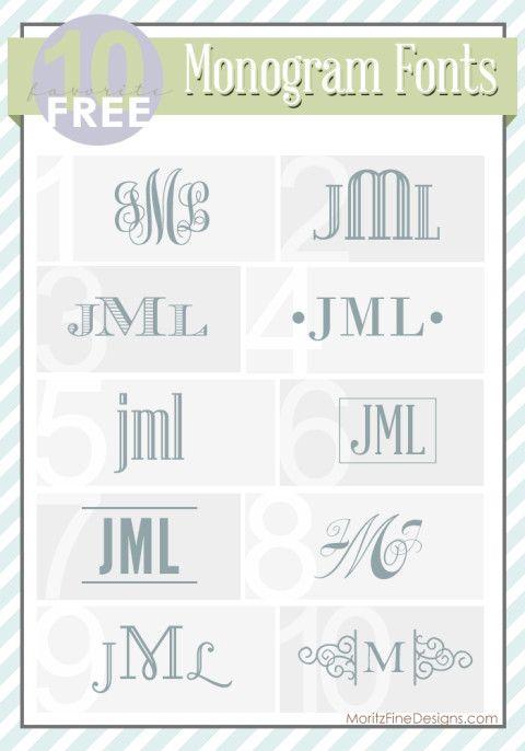 monogramfonts