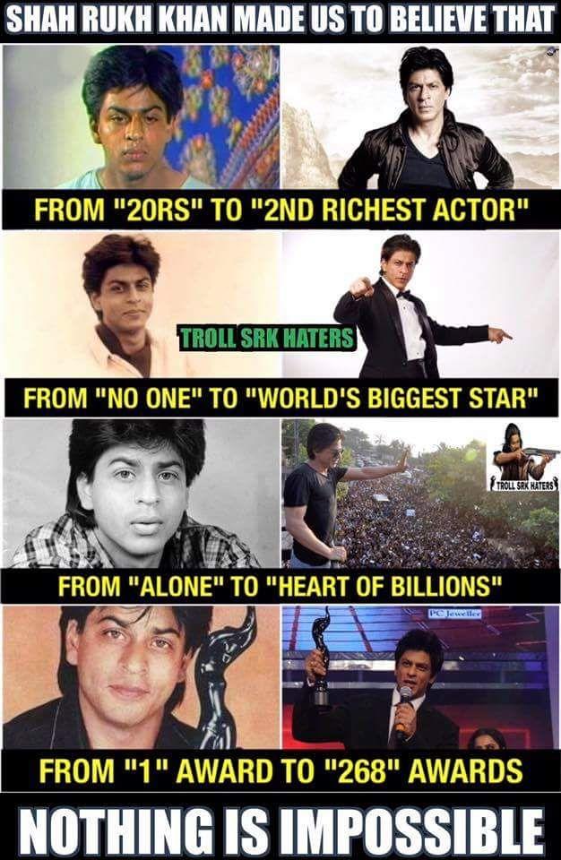 U r a legend Shahrukh sir may Allah bless u and once again wish u a very happy birthday