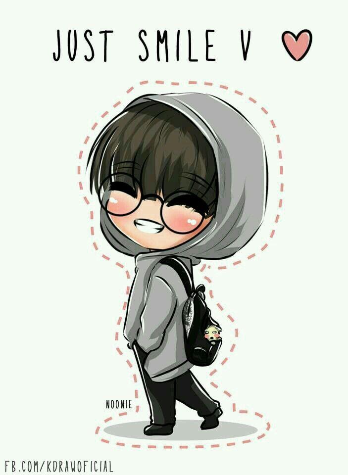Cute V