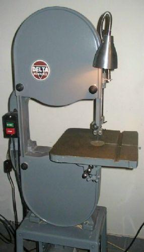 "Photo Index - Delta Manufacturing Co. - 14"" Delta Milwaukee band saw | VintageMachinery.org"