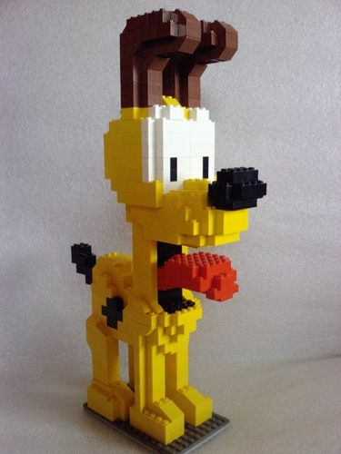 Odie A Lego 174 Creation By Angelo S Mocpages Com