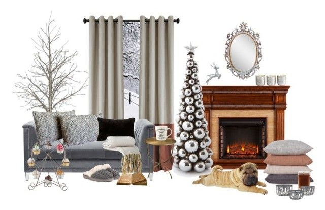 """""""szürke és barna"""" by hemos on Polyvore featuring interior, interiors, interior design, home, home decor, interior decorating, Aromatique, Illume, Natural by Lifestyle Group and UGG"""