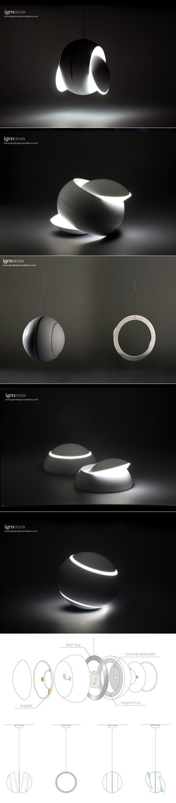 Lamp Swingy Magnative by IGEN Design
