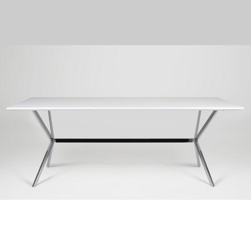 tafel hoogglans wit