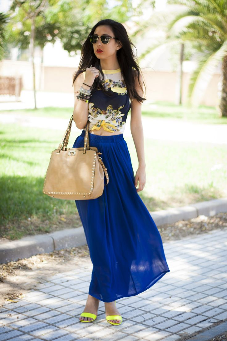 17 Best images about Outfit on Pinterest | Maxi skirts Apps and Zara