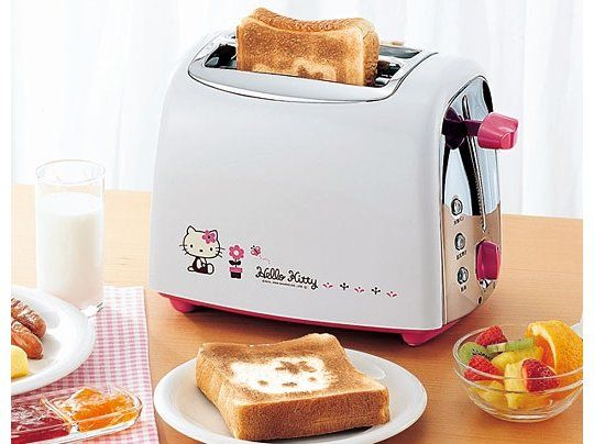 I have a Hello Kitty Toaster, but it's not the same as this one.