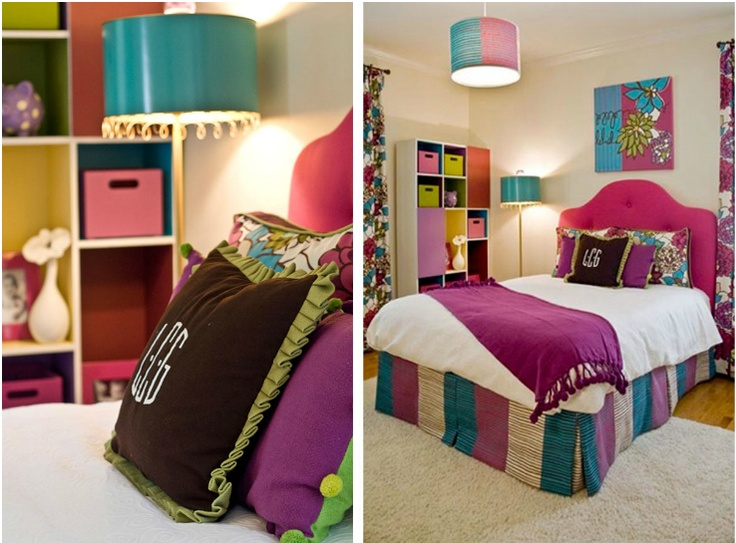 Turquoise  purple   green bedroom   love the color combination   designed. Best 25  Purple green bedrooms ideas on Pinterest   Green spare