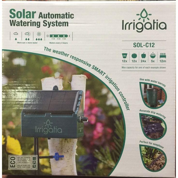 how to make automatic plant watering system