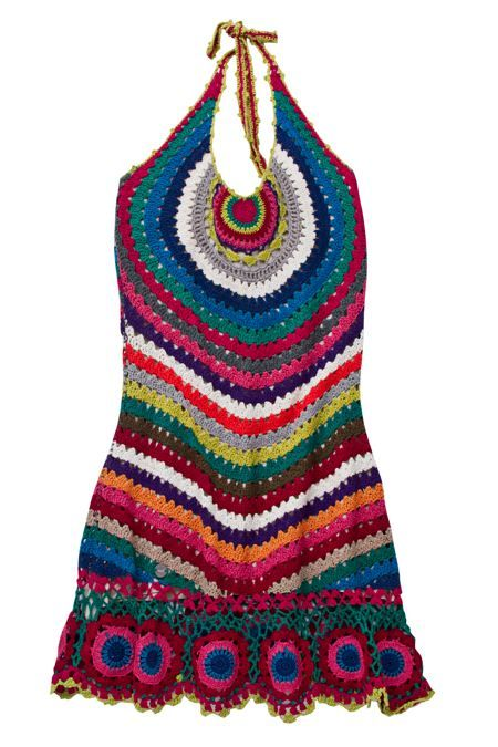 crochet dress - swim suit cover up