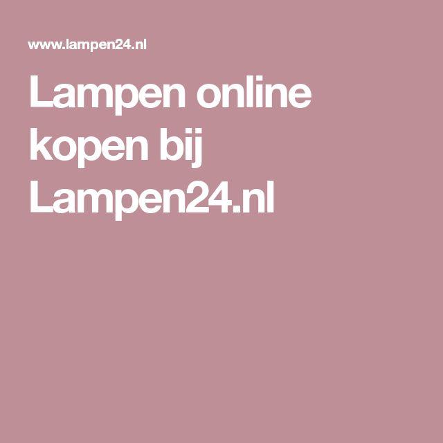 Lampen online kopen bij Lampen24.nl