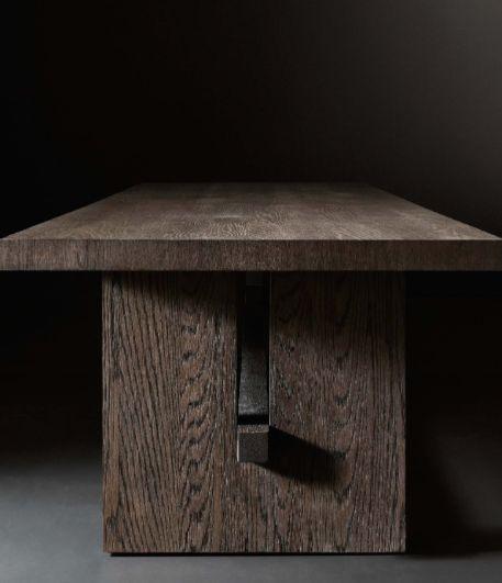 Rh Modern Dining Tables Dining Room Ideas - Rh modern dining table