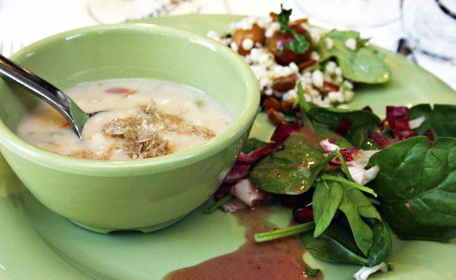 Truffled Calypso Bean Soup Recipe