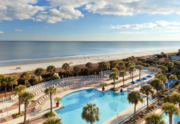 Oceanfront hotels Myrtle Beach SC