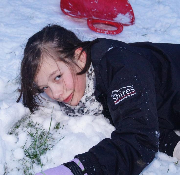 #makesmehappy @whitestuff - seeing my kids having fun in the whitestuff!:)