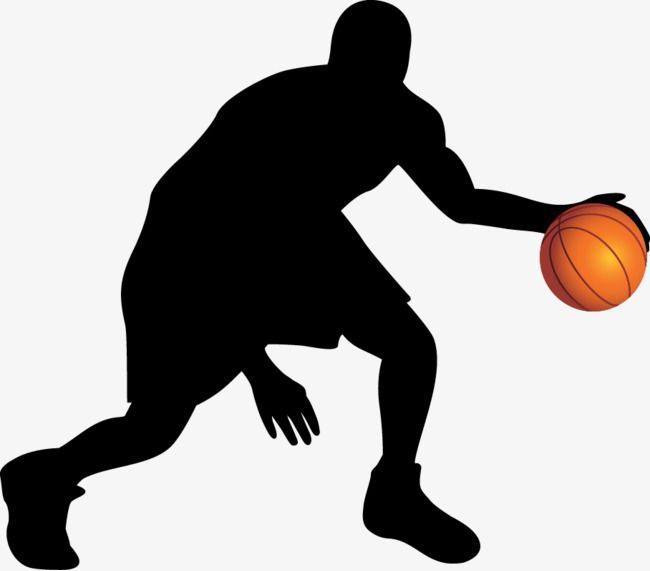 Basketball Silhouette Vector Material Basketball Movement Sketch Png Transparent Clipart Image And Psd File For Free Download Basketball Silhouette Silhouette Vector Silhouette