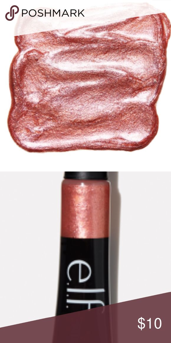 NEW SEALED ELF ROSE GOLD GLITTER GEL HIGHLIGHTER No trades. BRAND NEW AND SEALED. This multi-dimensional liquid glitter is perfect for using as a highlighter, eyeshadow, eyeliner, or lip color for an instant pop of glitter on the skin. This glitter gel can be worn alone or on top of existing products to transform any matte or glossy texture to a sparkling metallic finish.  Apply a small amount to face and blend in with a Liquid Highlighter Brush or finger prior to drying. Layer for desired…