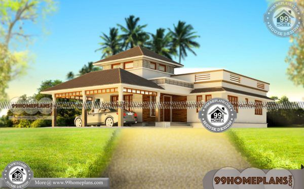 1 Floor 3 Bedroom House Plans 85 Beautiful One Storey House Designs One Storey House Bedroom House Plans Single Floor House Design