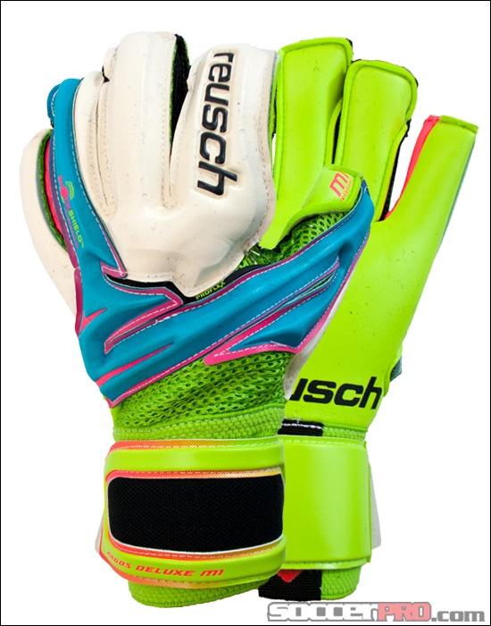 Reusch Argos Deluxe M1 Goalkeeper Gloves - Bluebird with Lime...$107.99
