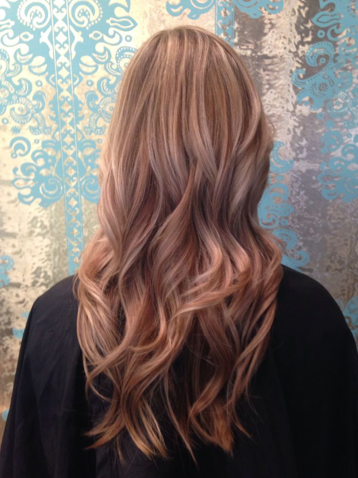 Beige Blonde Lowlights With Cool Blonde Highlights Hair
