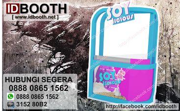 asikkkkk  !!!! booth soylicious yang lucu ini udah beredar buruan kunjungi    www.idbooth.net