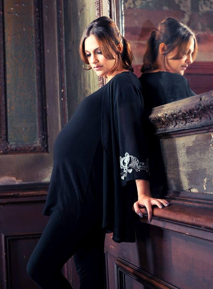 6,5 aylık hamile Meryem Uzerli -  MERYEM UZERLİ - ARALIK 2013