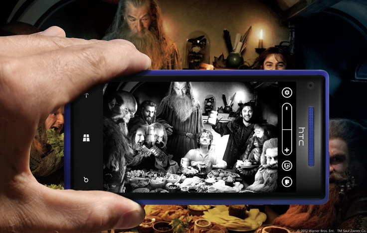 When on An Unexpected Journey, use Lenses on your new #WindowsPhone to take, edit, and share your precious moments. #TheHobbit
