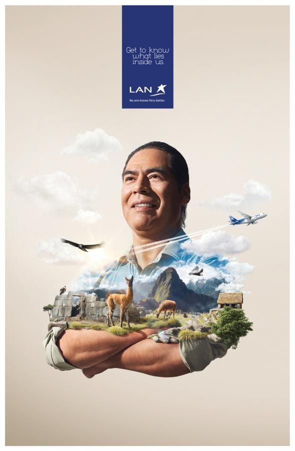 Lan Airlines: Cusco | Ads of the World™
