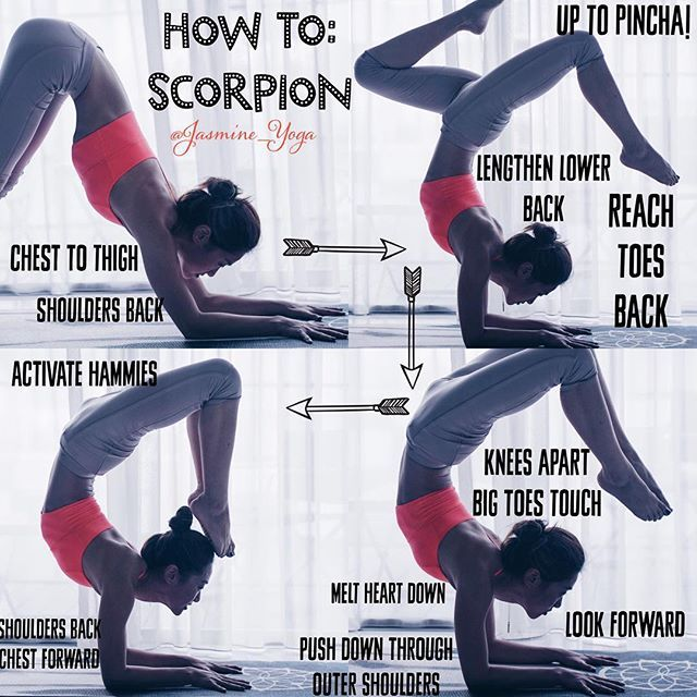 #YogaTutorial : #scorpionpose  This took me a year. You can see my previous post…