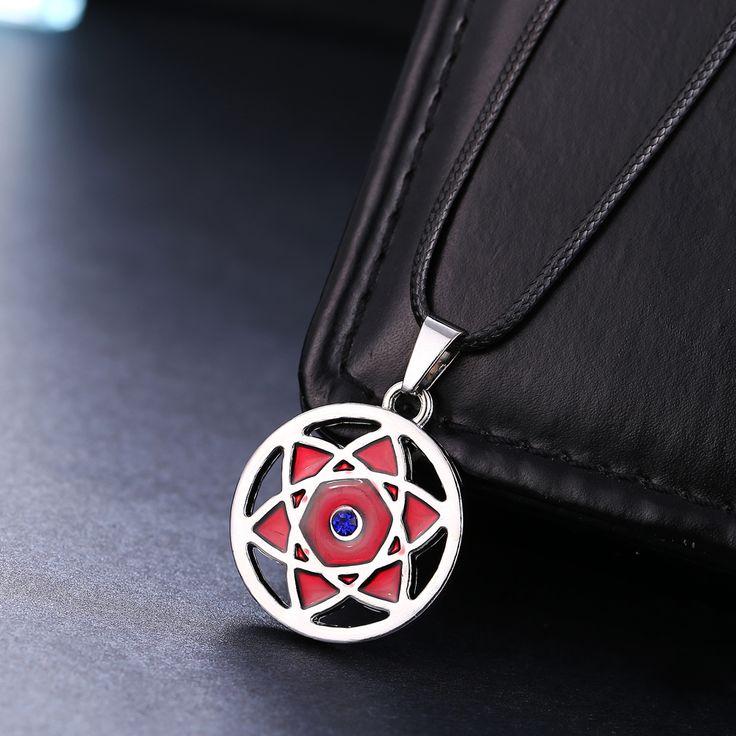 Naruto – Sasuke's Mangekyou Sharingan Necklace