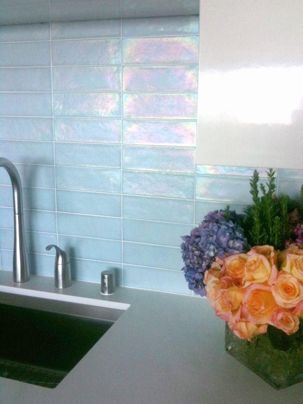 I Think The Glass Tile Backsplash Will Lighten Up The Kitchen When We  Remodel It.
