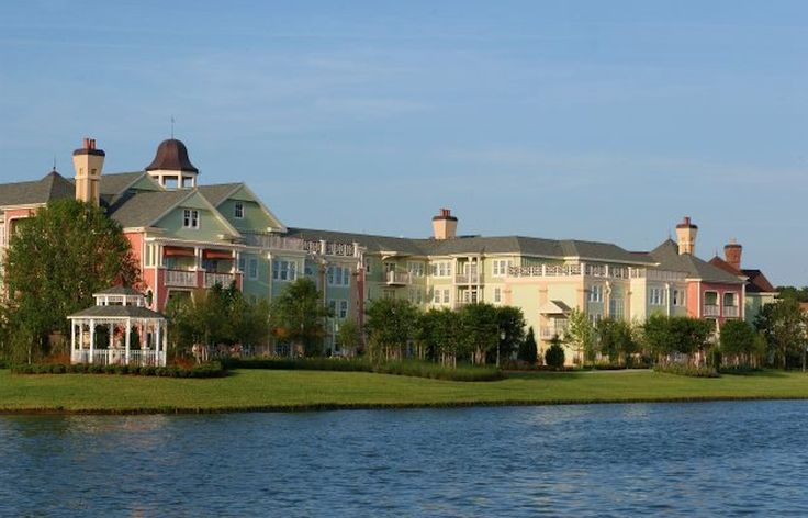 Modeled after historic Saratoga Springs — a 19th century New York retreat famous for horse racing and mineral spring spas — Disney's Saratoga Springs Resort & Spa is tucked between golf course greens and the beautiful Village Lake. Enjoy the pools, waterslide, waterfalls, and spas.