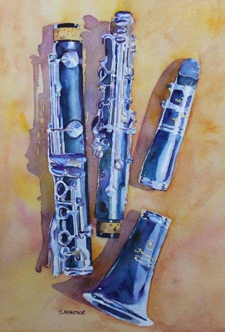 Clarinet by Jenny Armitage