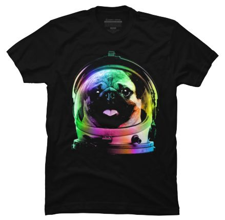 This Pug in Space T-shirt designed by clingcling is available in sizes S to 5XL and comes in black only. This design is available on a singlet, short and long t-shirts, hoodies, phone cases and as an art print. http://iheartdogstshirtsandhoodies.com/pug-astronaut-in-space-t-shirt/ Follow on Instagram: https://www.instagram.com/my.pug.life/