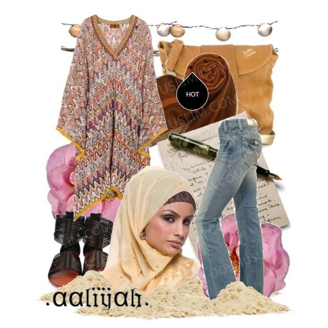Fashionable Hijab Style For You