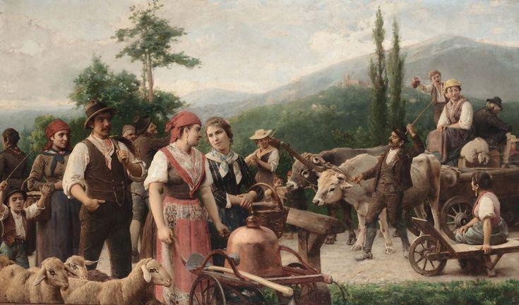 Masterpiece of Art: Napoleone Nani | Ritorno alla campagna