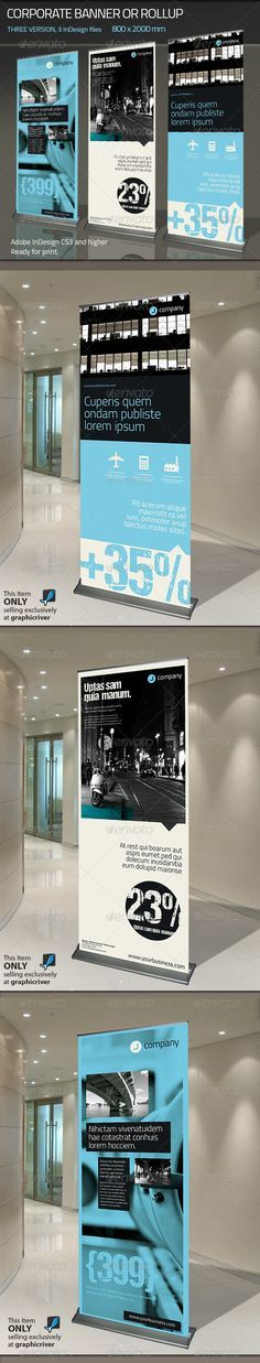 Corporate Banner or Rollup from Paulnomade