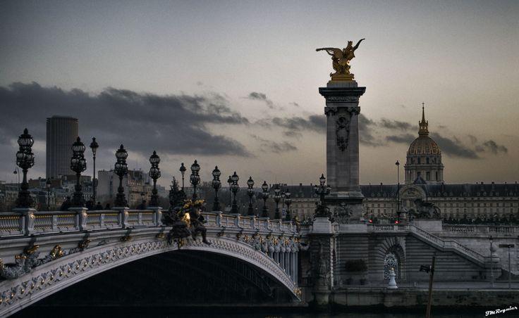 Paris : De la Tour Montparnasse aux Invalides - le pont Alexandre III