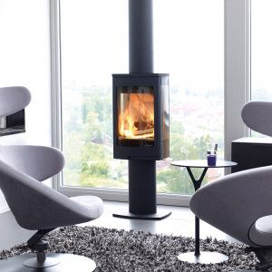 Nordpeis Duo 1 - Contemporary Stoves - Stoves