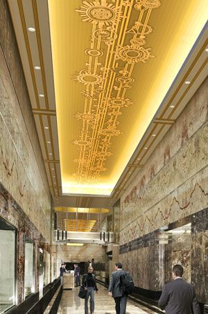 Inside The Empire State Building Straight And Simplistic So Beautiful Find This Pin More On NYC Art Deco